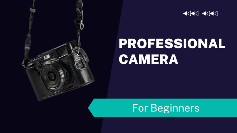 professional camera for beginners
